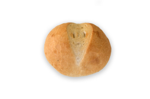 Хлебче бяло кръгло 60 гр.