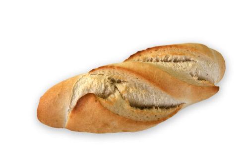 Хлебче бяло продълговато 60 гр.