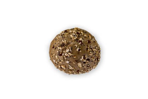 Хлебче пълнозърнесто кръгло с комбинирана поръска 30 гр.