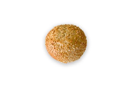 Хлебче бяло кръгло сусам 30 гр.