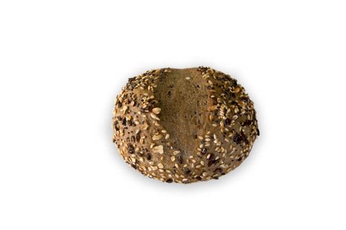 Хлебче пълнозърнесто с комбинирана поръска 60 гр.