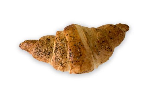 Кроасан пълнозърнест с рикота, маслина и чушка 120 гр.